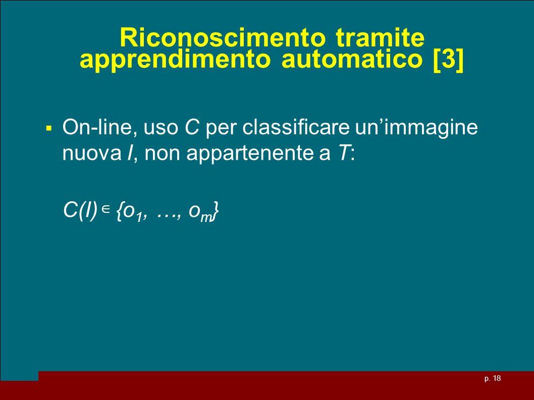 Riconoscimento tramite apprendimento automatico [3]